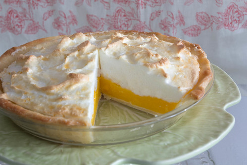 Tangerine Meringue Pie