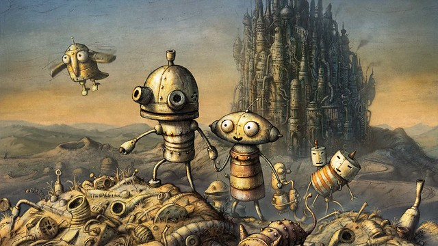 Machinarium on PS Vita