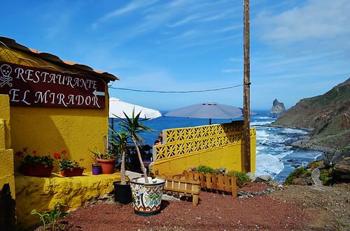El Mirador restaurant, Benijo