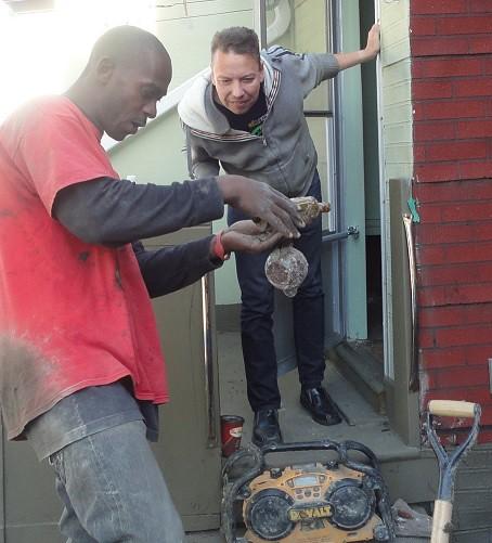 Found In Basement: Toronto Basement Waterproofing Contractor Showing Home
