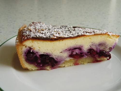 Quarkkuchen mit Heidelbeeren (1)