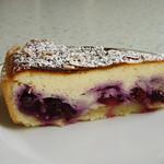 Rezepte mit Blaubeeren: Quarkkuchen mit Heidelbeeren (1)