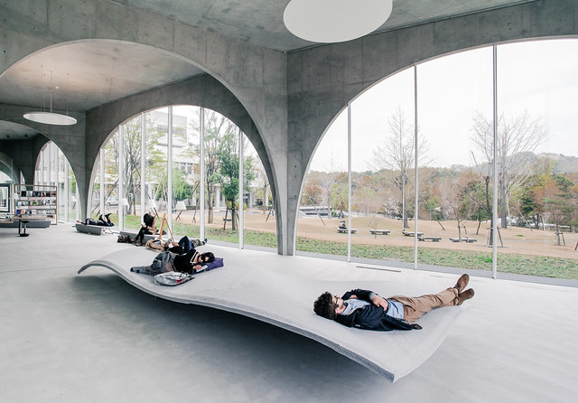 Tama Art University Library - Toyo Ito