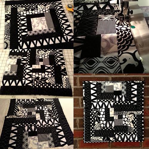 #pillow making #sewing #patchwork #diy