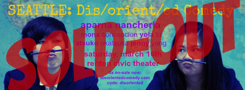 Dis/orient/ed Comedy - Seattle 2