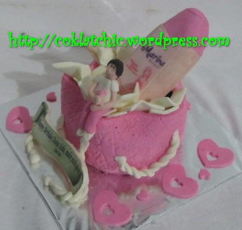 Cake Body Lotion Marina Diana Siska