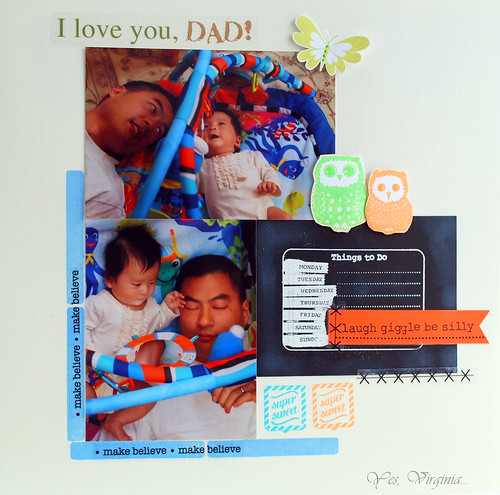 I love you, Dad!