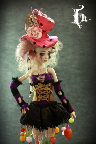Doll , one of a kind dolls by Aidamaris Roman Forgotten Hearts by FHdolls