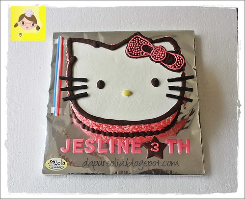 Hello Kitty Cake for Jesline