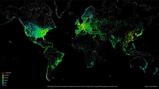 这张通过非法途径制作的,但是美得令人不敢相信的GIF图,可以告诉你互联网到底是什么样子的!