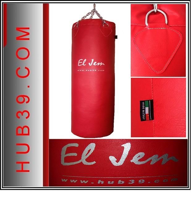 boxe sac de frappe neuf 120x35 rosso qualite 40kg. Black Bedroom Furniture Sets. Home Design Ideas