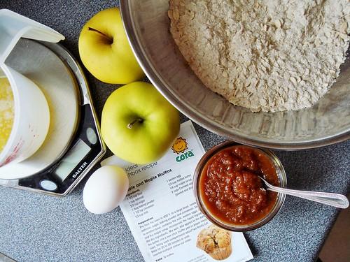 Maple Apple Multigrain Muffin