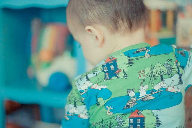 vêtement bébé moomin