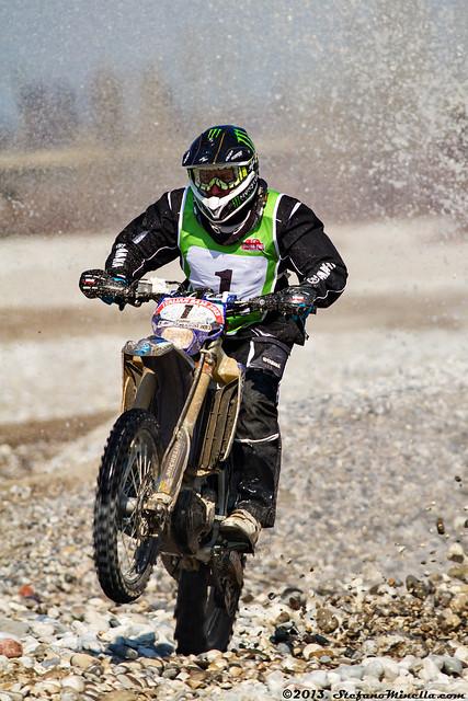 Stéphane Peterhansel (FRA) - Yamaha WR 450F [20th Italian Baja]