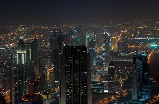Buildings le long de la Sheikh Zayed Road