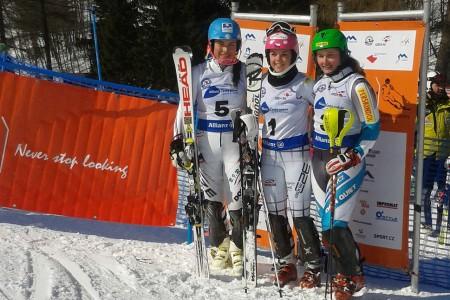 Mistry republiky ve slalomu jsou Kateřina Pauláthová a Kryštof Krýzl!