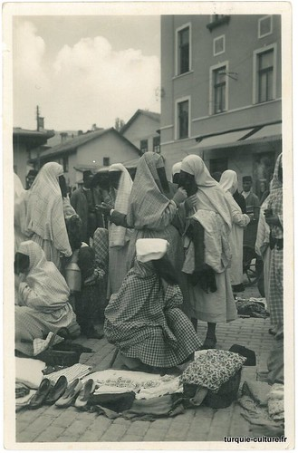 Sarajevo, femmes musulmanes, 1932