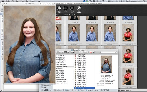 Composite Photos doing Small Business work