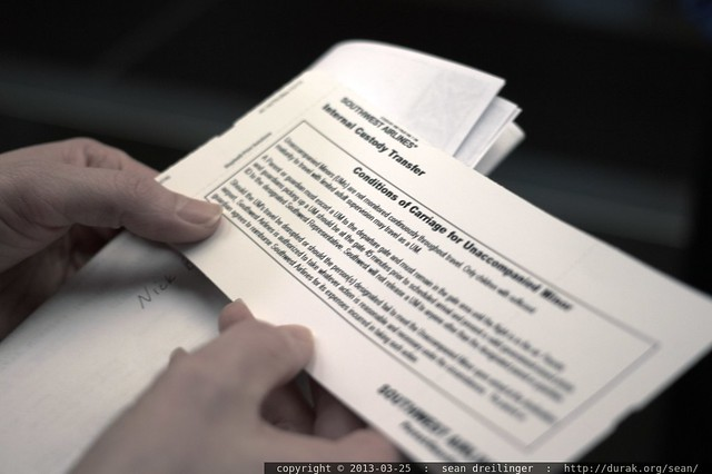 unaccompanied minor paperwork - _MG_3665