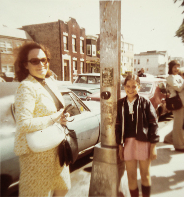 1970 Aunt Rose & Letty in Boro Park 13th ave & 57st