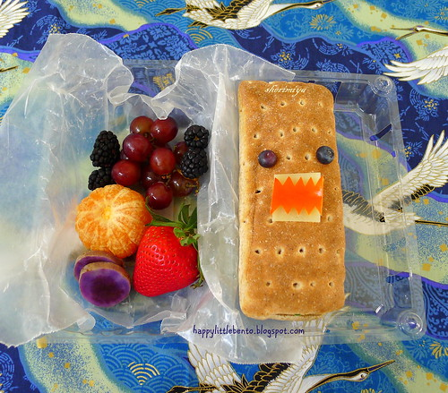 Domo Hot Dog Field Trip Bento by sherimiya ♥