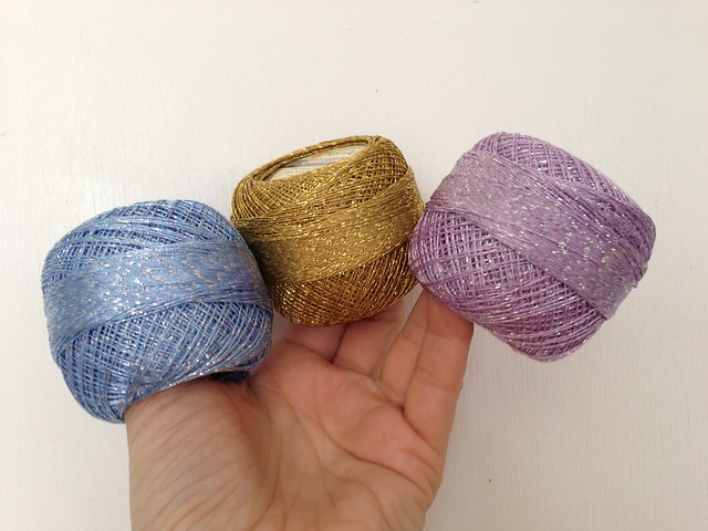 crochet bow ring colors