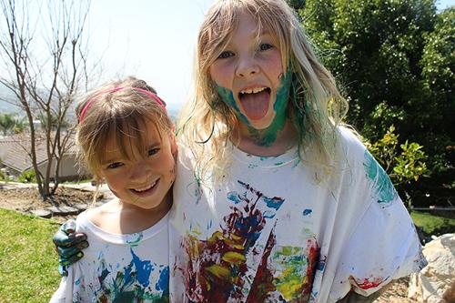 messy girls