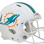 Just Released Miami Dolphins New Logo Helmet Striping And White Facemask