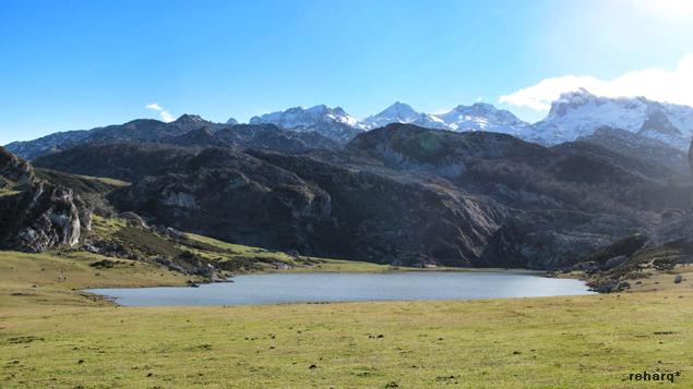 Covadonga_lago ercina