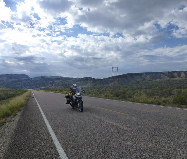 sara riding to Bryce