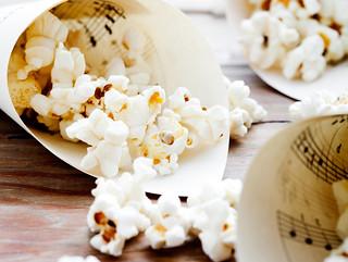 Rezepte mit Aquasale Meersalz: Safran-Popcorn