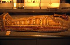 Ägypten 1999 (275) Luxor-Museum: Mumiensarg