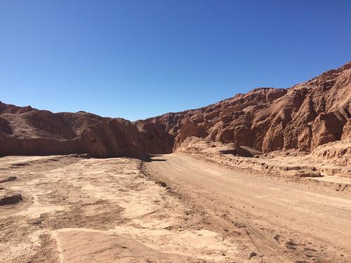 Le désert d'Atacama:  el Valle de la Muerte (o de Marte)
