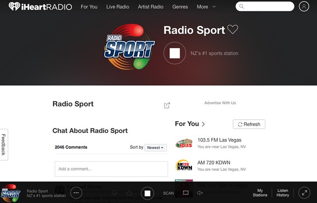 Listen to Radio Sport Radio Live | Stream Online Free | iHeartRadio