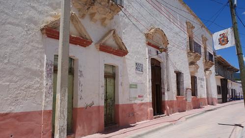 Fachada del Museo de Mazapil