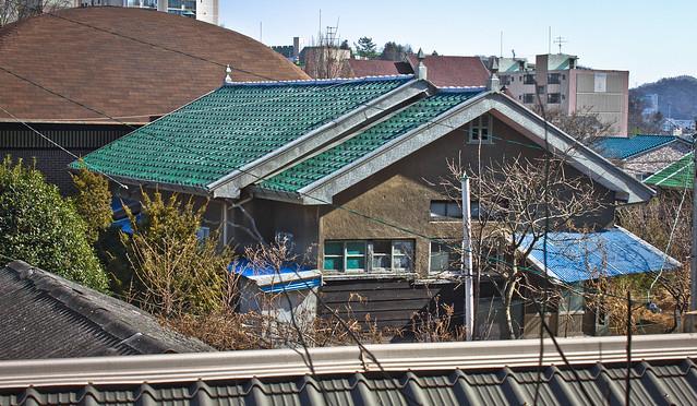 Colonial railway employee housing, Suncheon, South Korea