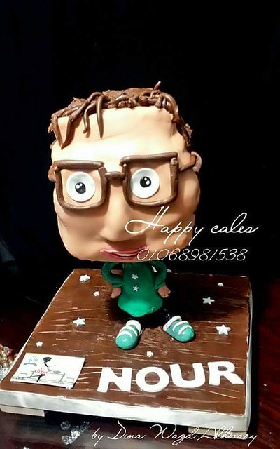 Cake by Dina Wagd Alhwary