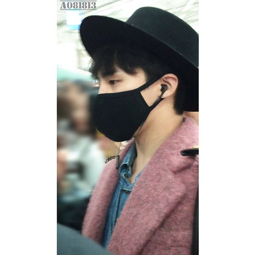 Big Bang - Incheon Airport - 21mar2015 - G-Dragon - a081813 - 04