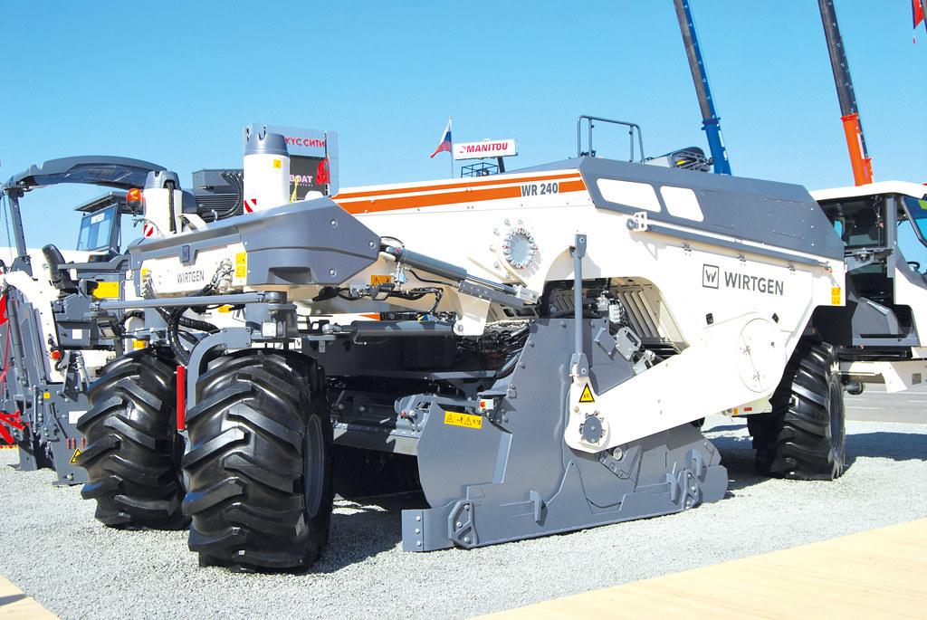 стабилизатор грунта Wirtgen WR 240
