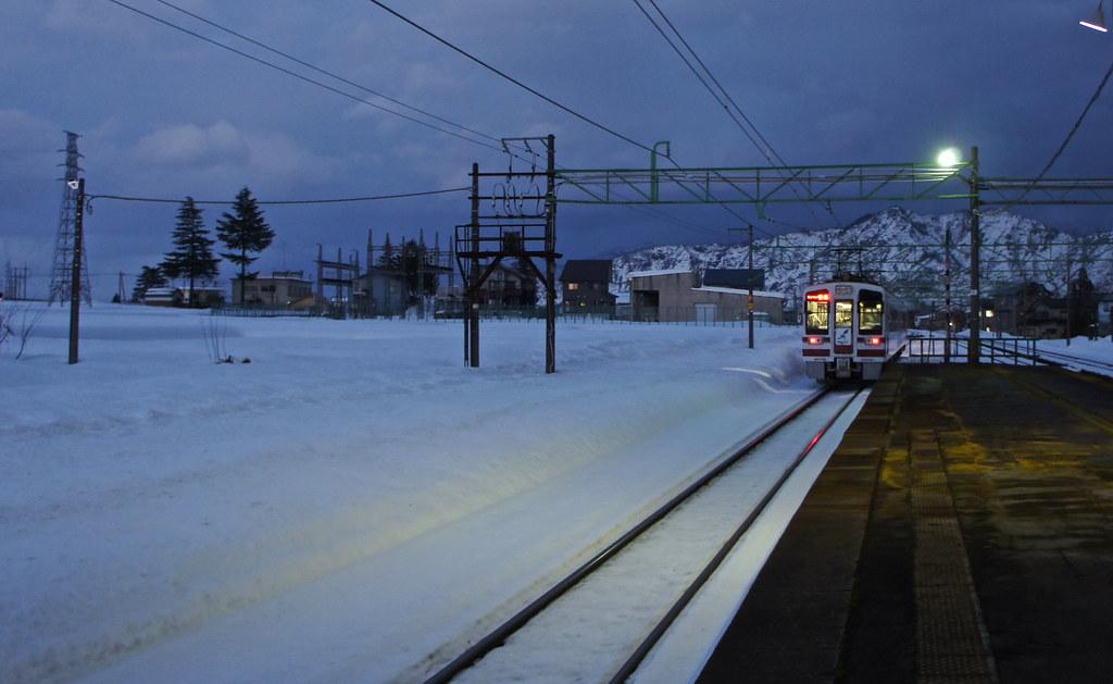 Shiozawa station Niigata