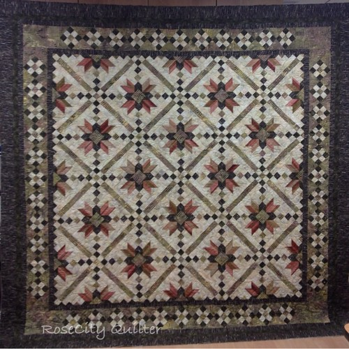 Irish Quilting Designs : Irish Chain Star finished.....edited to add pattern info - Quilt Pictures, Patterns ...