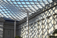 Kogod Courtyard - northeast corner - Smithsonian American Art Museum - 2013-01-04