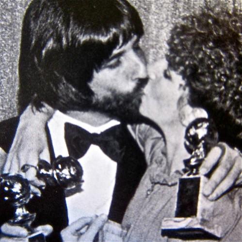 Jon Peters and Barbra Streisand