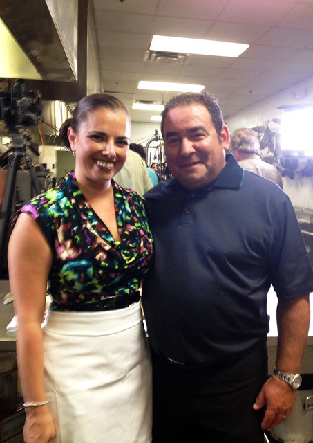 Emeril and Andrea Gonzmart