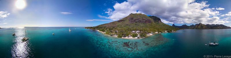 Polinesia Francesa de Mochilero