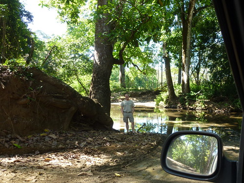 4WD road to Samara - rivier 2