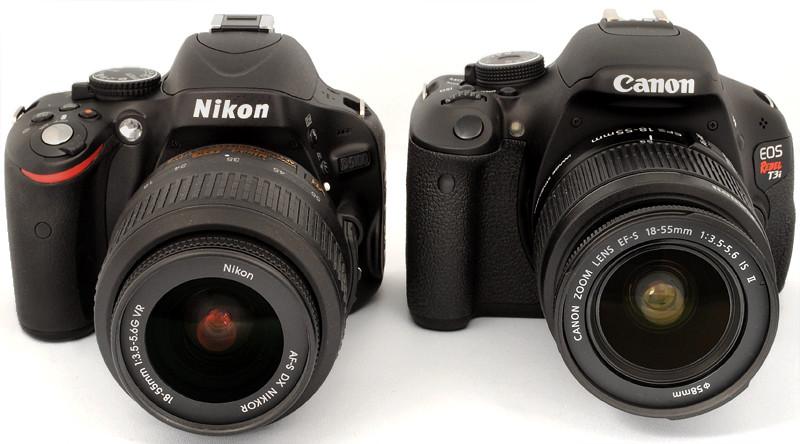 Nikon d5100 vs Canon 600d ¿?