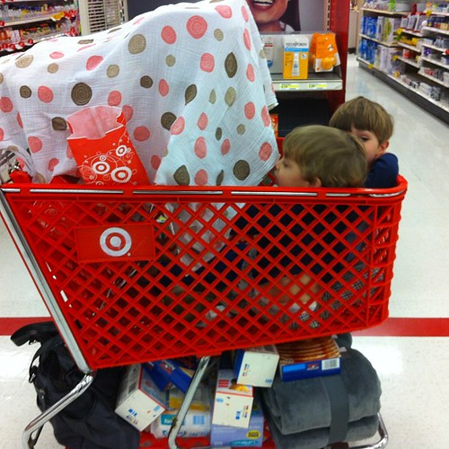 We came...we shopped...we survived Target.