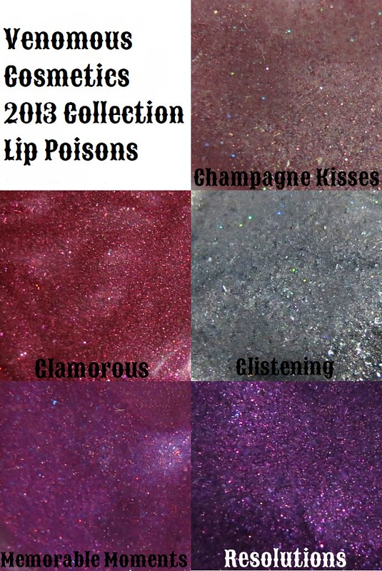 venomous cosmetics 2013 lip poisons collage