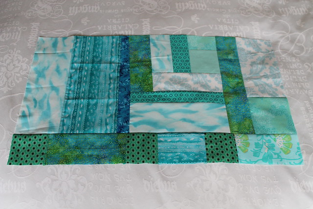 SMQ 2 Bee block for Seaside sewing